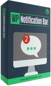 WP Notification Bar BOX