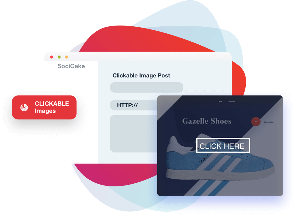socicake review clickable images
