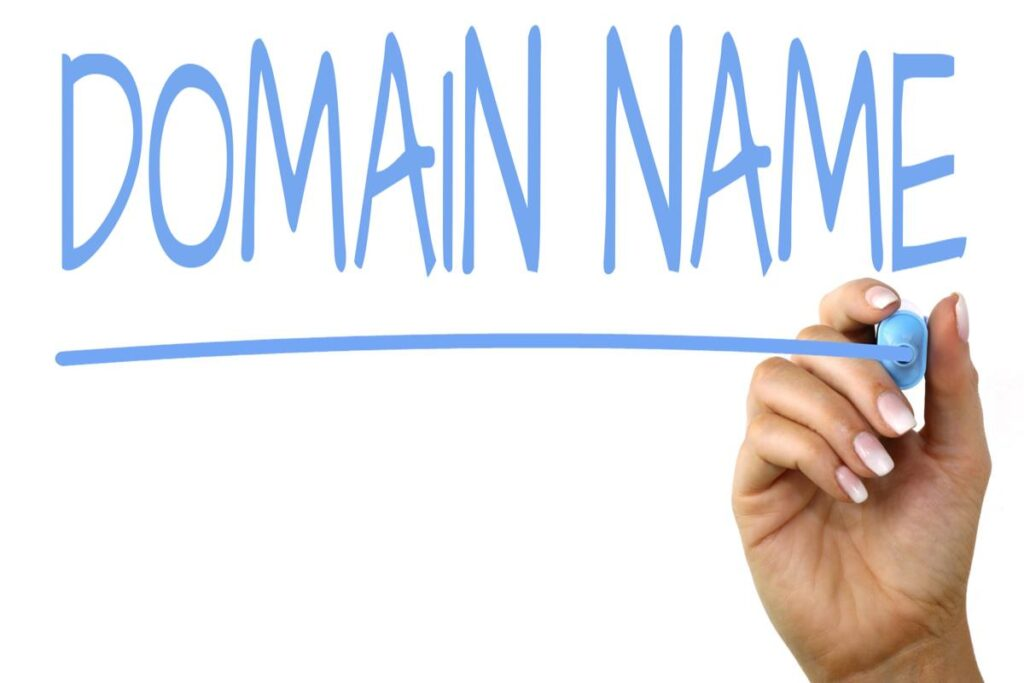 how to start your blog step by step. domain name